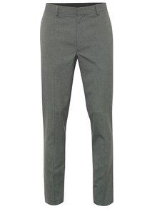 Šedé formální skinny kalhoty Burton Menswear London
