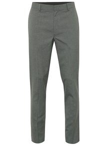 Sivé formálne skinny nohavice Burton Menswear London