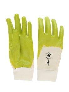"""""""Dobré"""" krémovo-zelené záhradnícke rukavice pre Kokozu"""