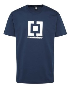 Tricou albastru New Base cu logo