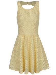 Žluté krajkové šaty ONLY Line Fairy