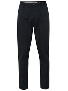 Tmavomodré chino nohavice Selected Homme AB