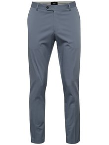 Pantaloni albastru deschis Selected Homme slim fit Abone-Cotton