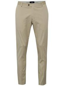 Pantaloni bej Selected Homme Abone-Cotton