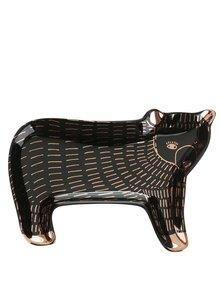 Suport pentru bijuterii Magpie Wild Tale din ceramică în formă de urs