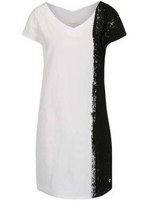 Černo-krémové šaty Skunkfunk