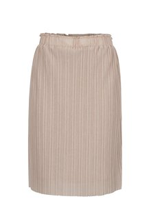 Béžová plisovaná sukňa VERO MODA Mira