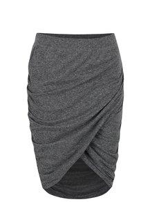 Sivá elastická sukňa Noisy May New Ola