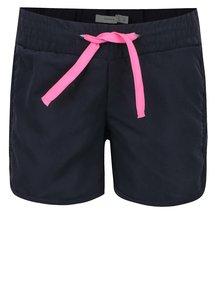 Pantaloni scurți albaștri name it Zigga cu talie elastică pentru fete