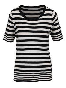 Tricou alb&negru ONLY Mila cu model în dungi