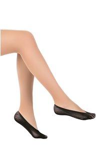 Černé nízké síťované ponožky s puntíky Penti Dots Suba