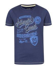 Tricou albastru închis cu print Blue Seven pentru băieți