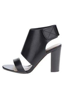 Černé sandálky na širokém podpatku ALDO Mukai