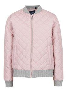 Jachetă bomber roz Blue Seven pentru fete