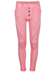Ružové dievčenské tepláky Blue Seven