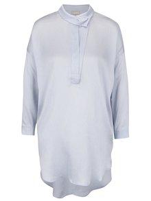 Rochie cămașă albastru deschis Selected Femme Augusta