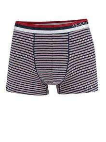 Červeno-modré pruhované boxerky GANT