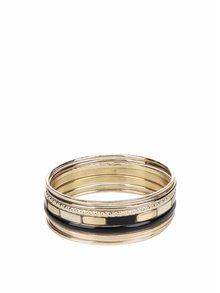 Set de 8 brățări aurii& argintii Pieces Layla