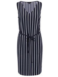 Tmavě modré pruhované šaty Nautica