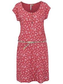 Rochie roșie Ragwear Zephie A Organic cu model