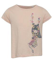 Tricou roz 5.10.15. cu print