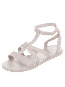 Krémové sandále Zaxy