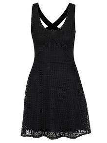 Rochie neagră Haily´s Hedda din dantelă