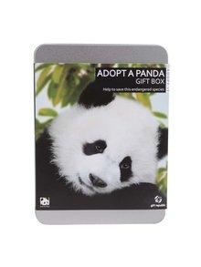"""Cutie multifunctională """"Adoptă un urs panda"""" Gift Republic"""