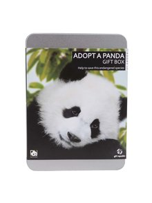"Cutie multifunctionala ""Adopta un urs panda"" Gift Republic"