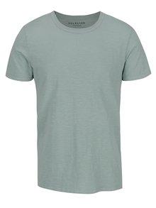 Zelené žíhané tričko Selected Homme Ben