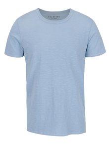 Svetlomodré žíhané tričko Selected Homme Ben