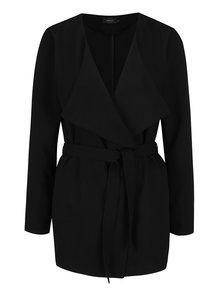 Čierny ľahký krátky kabát ONLY Maya