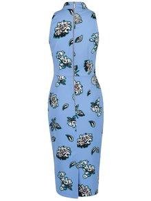 Rochie albastră Closet cu imprimeu floral
