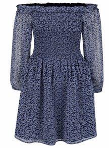 Rochie albastră Miss Selfridge cu imprimeu floral