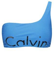 Modrý horní díl plavek Calvin Klein