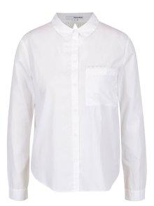 Bílá košile s krajkou na zádech TALLY WEiJL