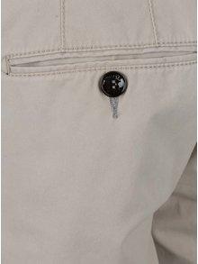 Pantaloni chino scurti bej Fynch-Hatton