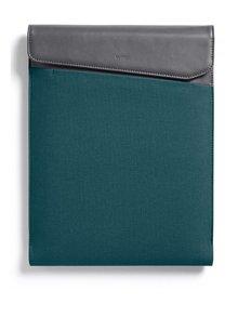 """Modro-sivý obal na notebook s koženými detailmi Bellroy Laptop Sleeve Extra 13"""""""