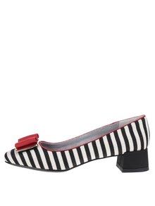 Pantofi negri Ruby Shoo June cu toc mic