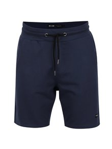 Pantaloni scurți albastru închis ONLY & SONS Grigori din bumbac