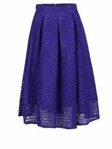 Fialová krajková midi sukně Dorothy Perkins