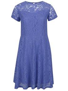 Rochie albastră Dorothy Perkins Curve din dantelă