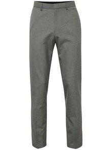 Světle šedé oblekové kalhoty Burton Menswear London