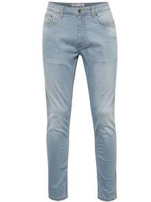 Světle modré super skinny džíny Burton Menswear London
