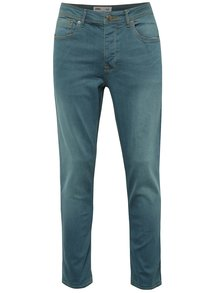 Zelené stretch skinny džíny Burton Menswear London