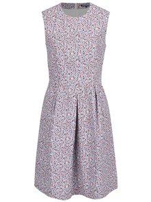 Modré kvetované šaty Tommy Hilfiger
