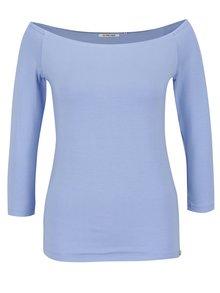 Modré tričko s lodičkovým výstrihom Rich & Royal