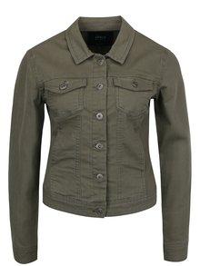 Khaki džínová bunda s kapsami ONLY Westa
