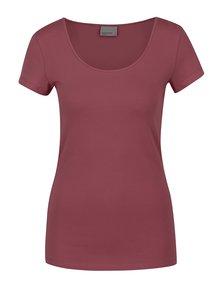 Tricou roșu burgundy VERO MODA Maxi My