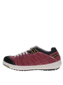 Pantofi sport de damă Weinbrenner roșii din piele întoarsă